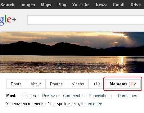Google+History社交时间线功能已经启动