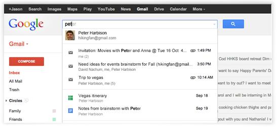 让Google搜索结果包含Google Drive内容