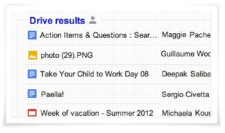 Files Google Drive