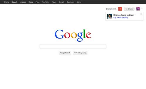 Google+启动生日提醒功能