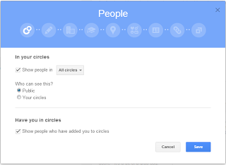 Google+个人空间界面大改版